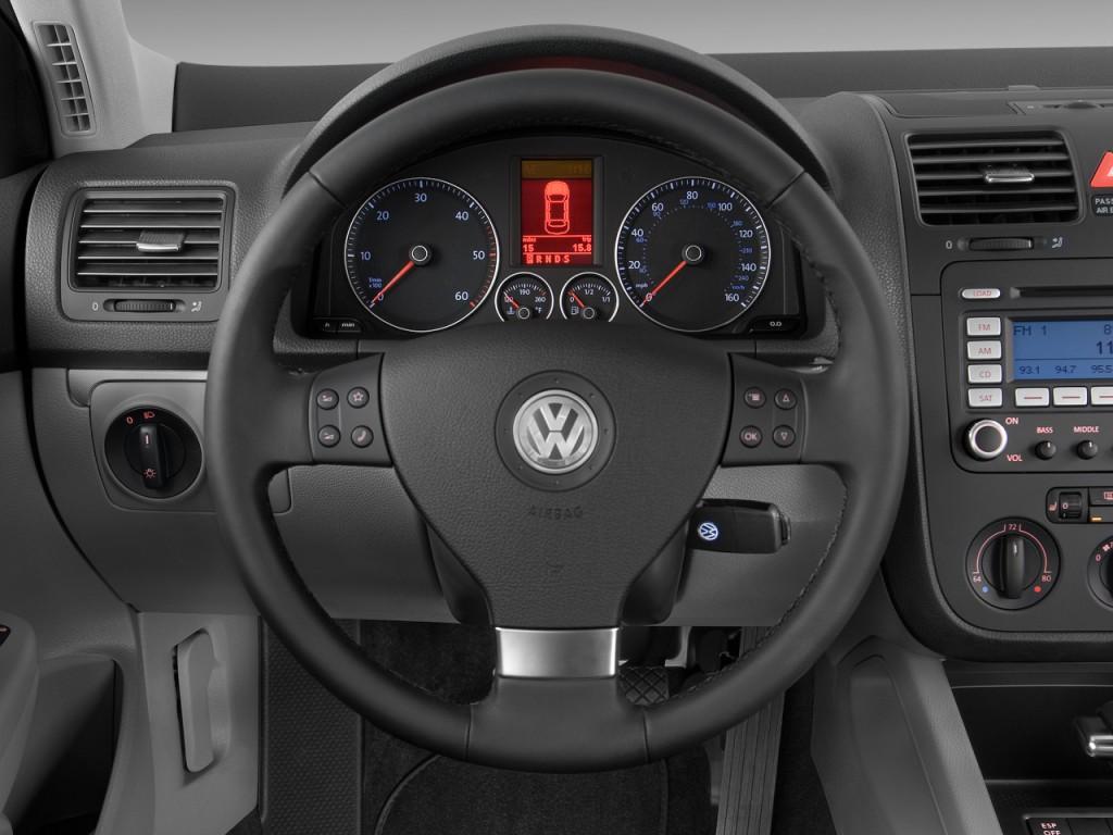 Image: 2009 Volkswagen Jetta Sedan 4-door DSG TDI Steering Wheel, size: 1024 x 768, type: gif ...