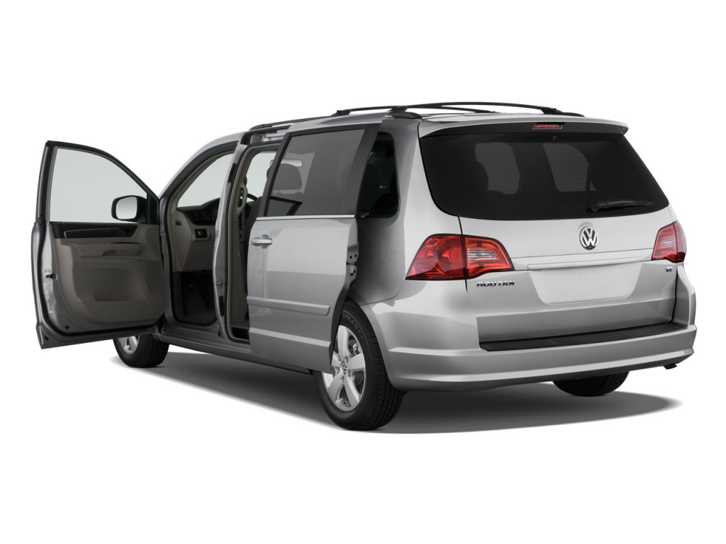 image 2009 volkswagen routan 4 door wagon se open doors. Black Bedroom Furniture Sets. Home Design Ideas