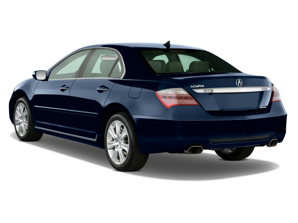 2010 Acura RL 4-door Sedan Tech/CMBS Angular Rear Exterior View