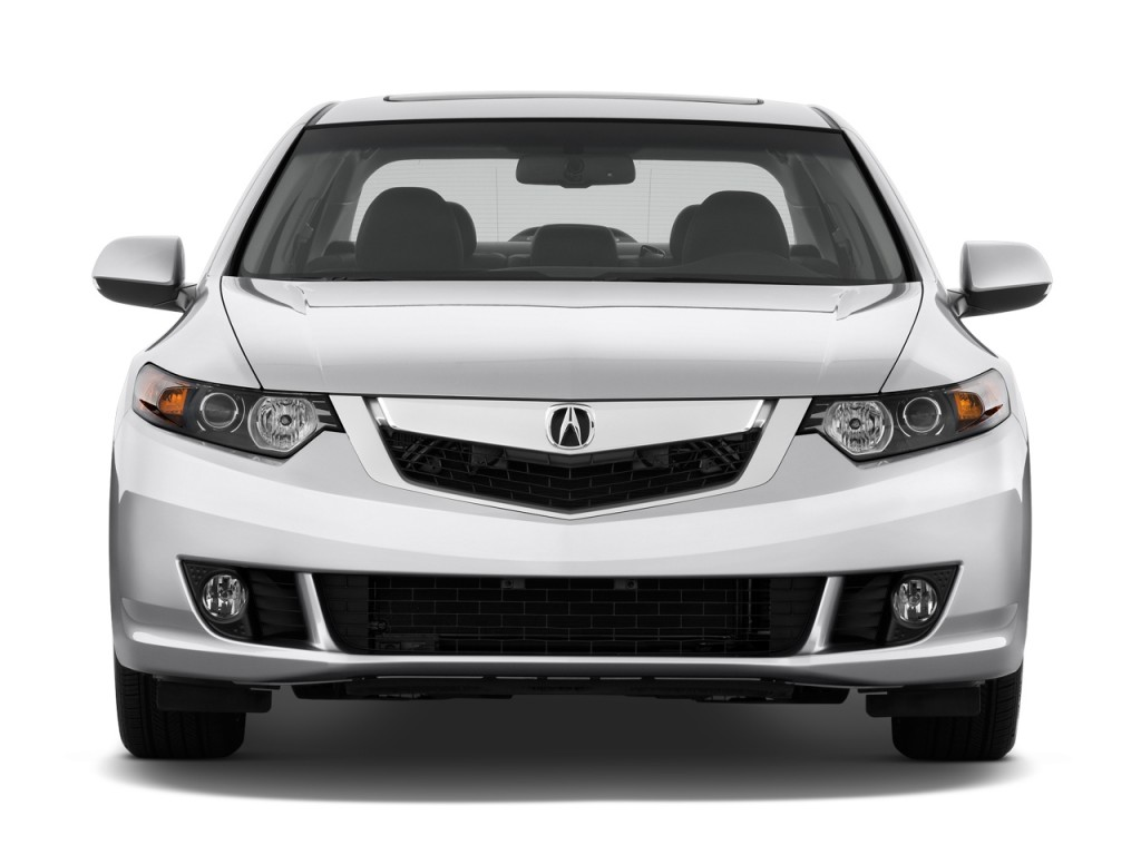 image 2010 acura tsx 4 door sedan v6 auto tech pkg front. Black Bedroom Furniture Sets. Home Design Ideas