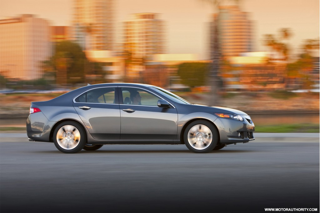 Best Family Luxury Small Sedans: 2010 Acura TSX