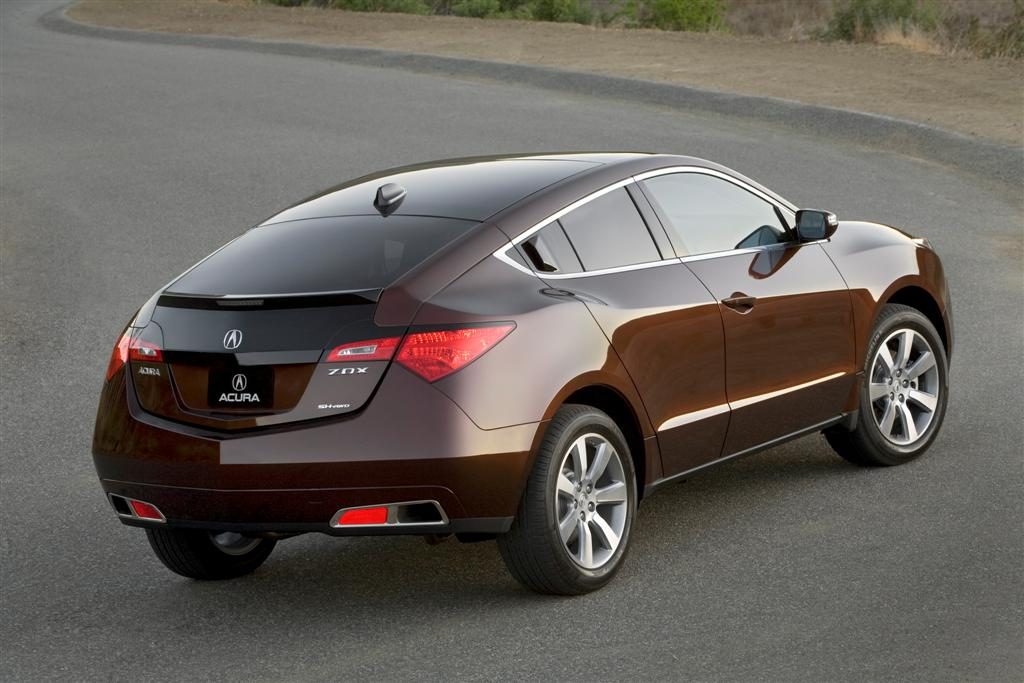2010 Acura ZDX – the Four Door Crossover Sport Coupe