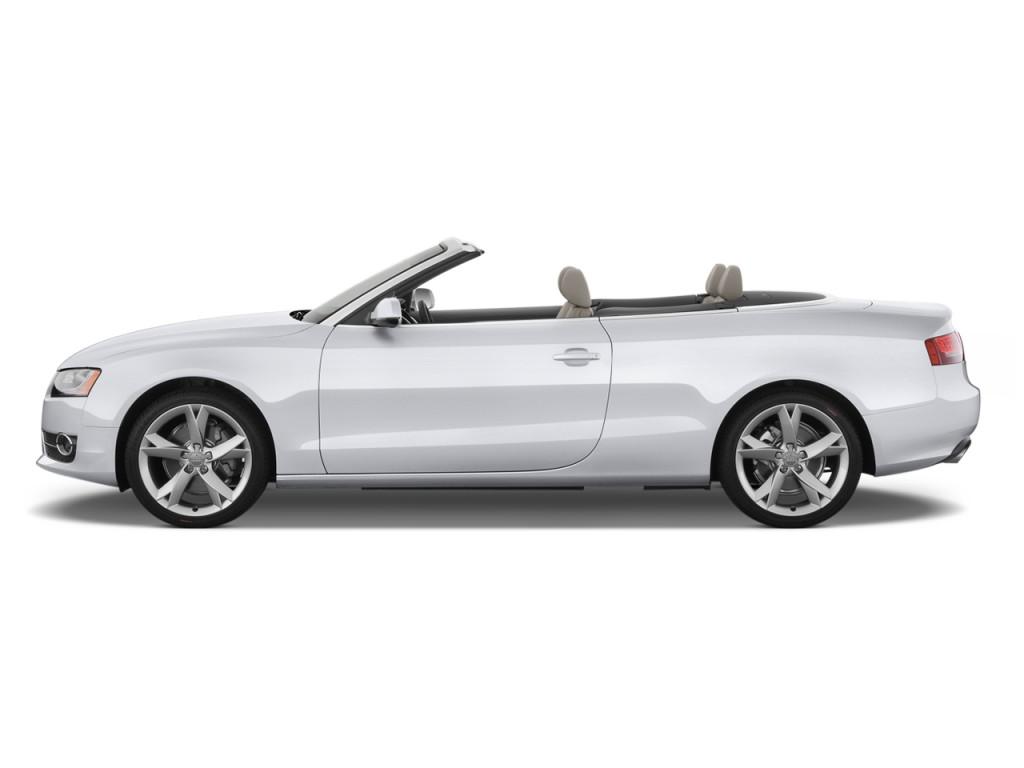 image 2010 audi a5 2 door cabriolet 2 0l fronttrak premium plus side exterior view size 1024. Black Bedroom Furniture Sets. Home Design Ideas