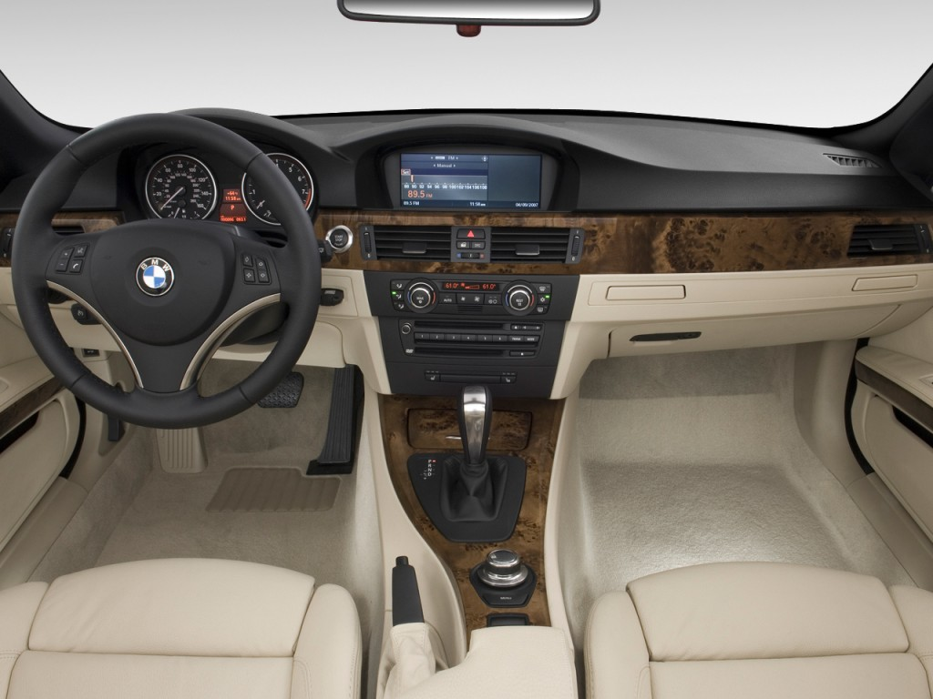 Image 2010 Bmw 3 Series 2 Door Convertible 328i Dashboard