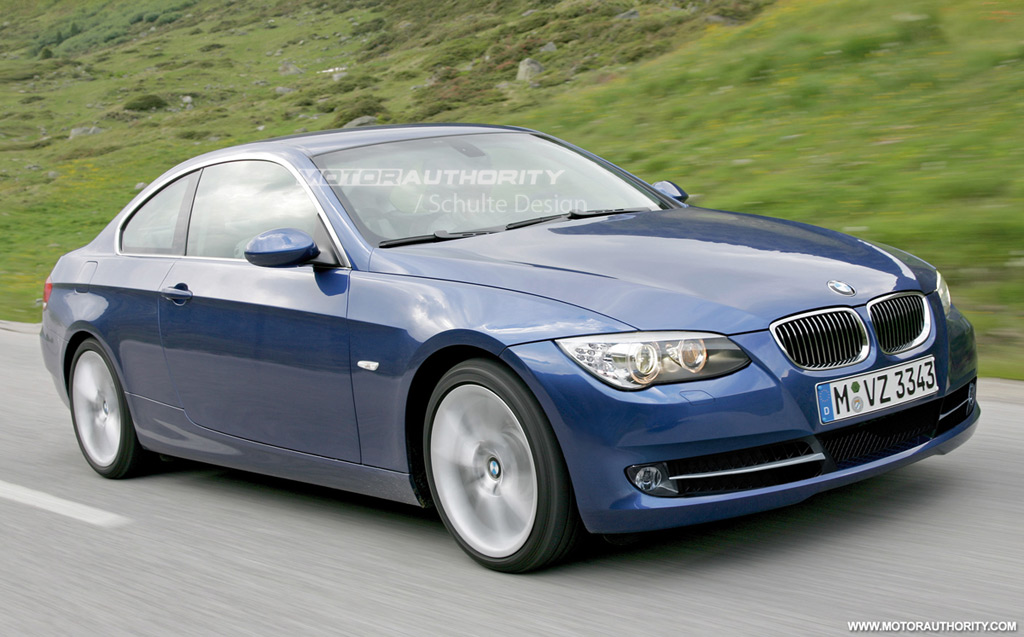 Rendered: 2010 BMW 3-Series Coupe Facelift: http://www.motorauthority.com/news/1037061_rendered-2010-bmw-3-series-coupe-facelift