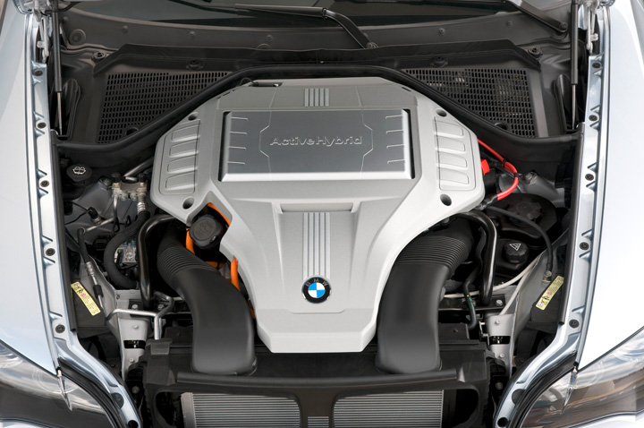 2010 BMW ActiveHybrid X6 engine