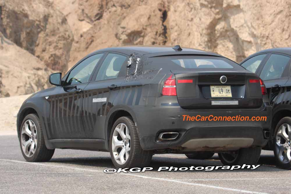 2010 BMW X6 Hybrid Spy Shots
