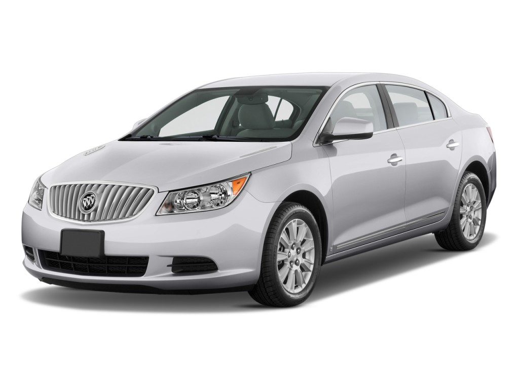 2010 Buick LaCrosse 4-door Sedan CX 3.0L Angular Front Exterior View