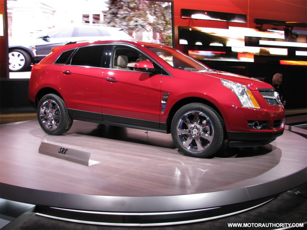 SRX-y New Crossover From Cadillac