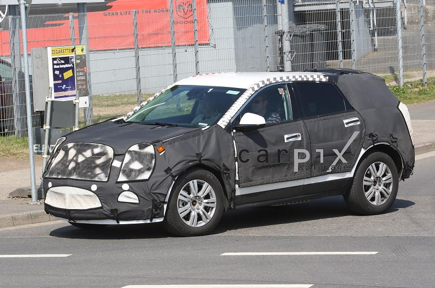 2010 Cadillac SRX Spy Shots, Too!