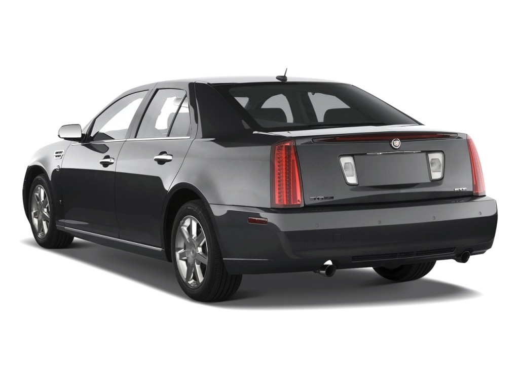 2010 Cadillac STS 4-door Sedan V6 RWD w/1SA Angular Rear Exterior View