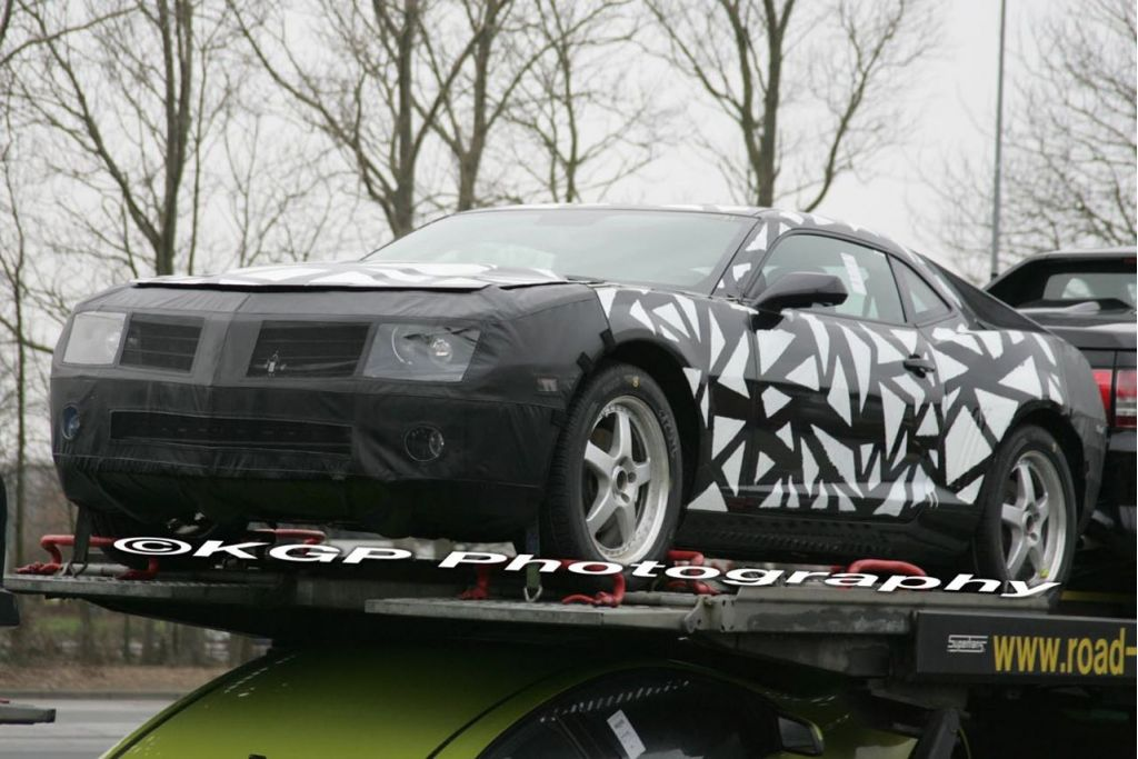 2010 Chevrolet Camaro Spy Shots
