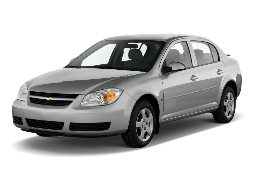 2010 Chevrolet Cobalt 4-door Sedan LT w/1LT Angular Front Exterior View