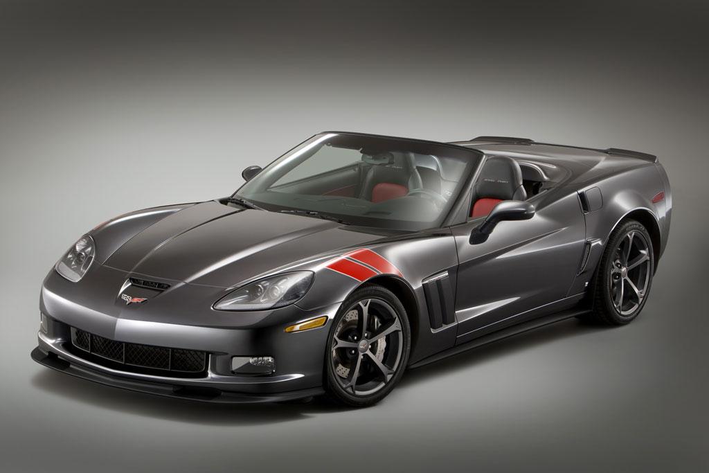 2010 Chevrolet Corvette Grand Sport Heritage Package Makes
