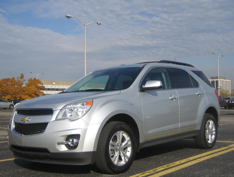 Drive Report: 26 MPG in 2010 Chevrolet Equinox Four-Cylinder