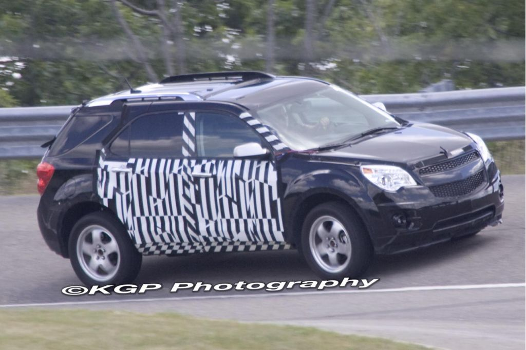 2010 Chevrolet Equinox Spy Shot