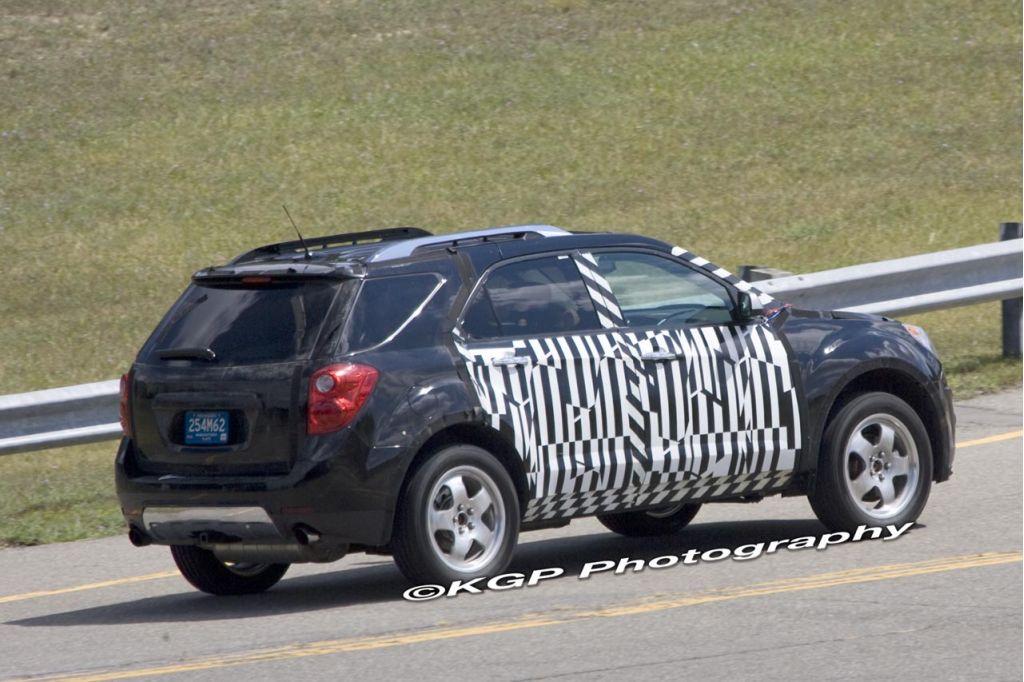 2010 Chevrolet Equinox Spy Shot