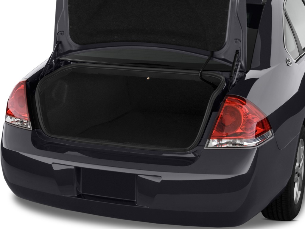 Image 2010 Chevrolet Impala 4 Door Sedan Ls Trunk Size