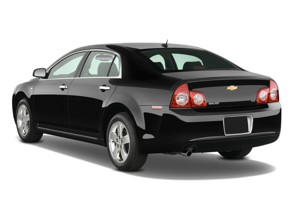 2010 Chevrolet Malibu 4-door Sedan LTZ Angular Rear Exterior View