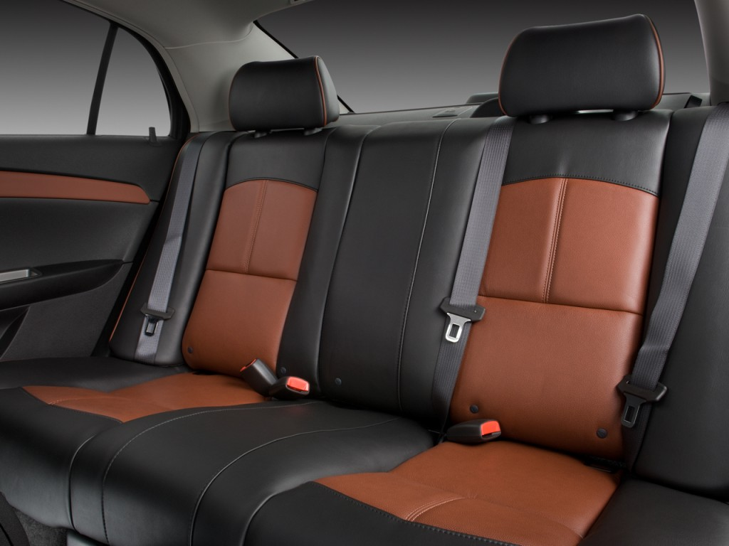 Image 2010 Chevrolet Malibu 4 Door Sedan Ltz Rear Seats