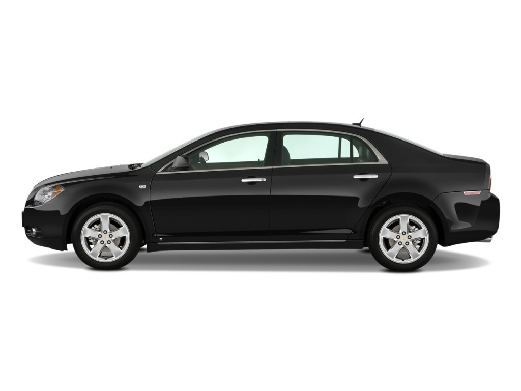 2010 Chevrolet Malibu 4-door Sedan LTZ Side Exterior View