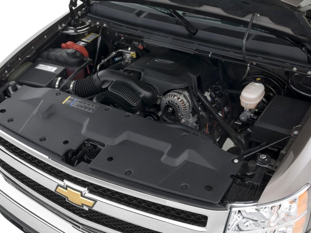 "2010 Chevrolet Silverado 1500 2WD Ext Cab 157.5"" LT Engine"