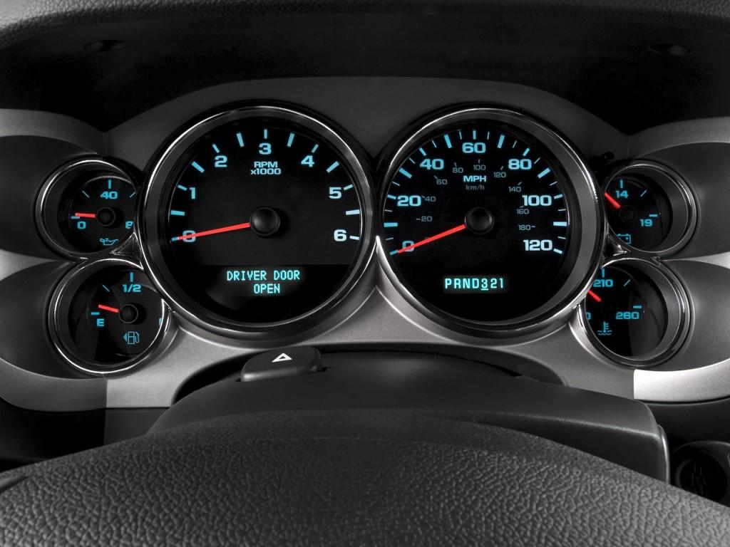 Image 2010 Chevrolet Silverado 1500 2wd Ext Cab 157 5 Quot Lt Instrument Cluster Size 1024 X 768