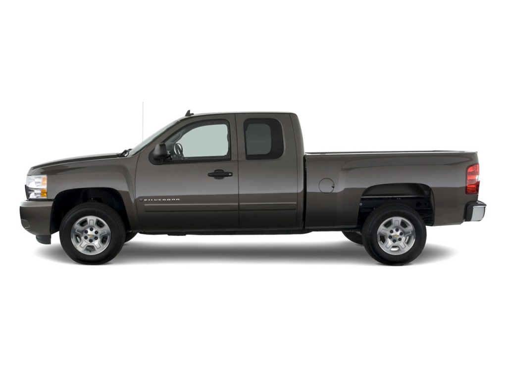 image 2010 chevrolet silverado 1500 2wd ext cab 157 5 lt side exterior view size 1024 x 768. Black Bedroom Furniture Sets. Home Design Ideas