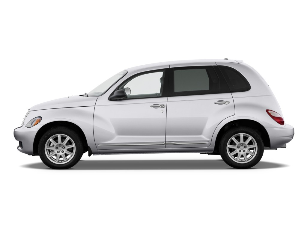 2010 Chrysler PT Cruiser Classic 4-door Wagon Side Exterior View