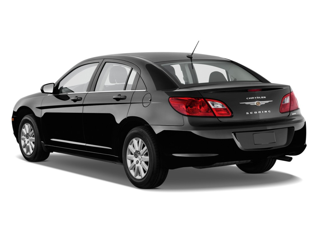 2010 Chrysler Sebring 4-door Sedan Touring Angular Rear Exterior View