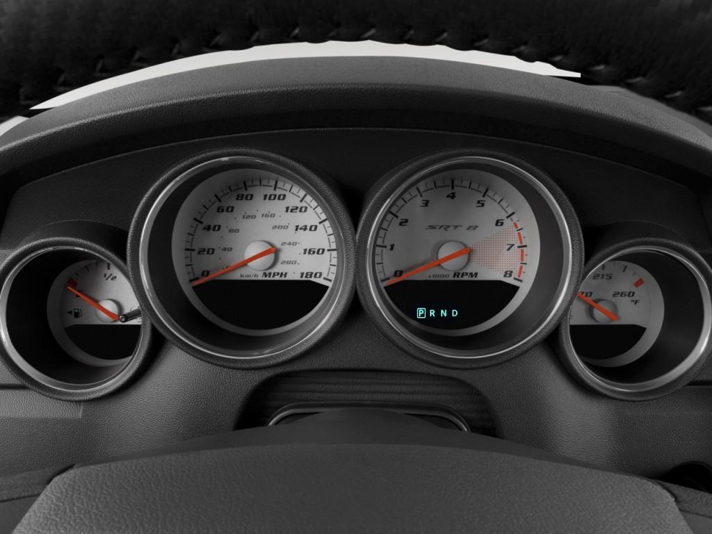 2010 dodge charger 4 door sedan srt8 rwd instrument cluster - Dodge Charger 2010 Srt8