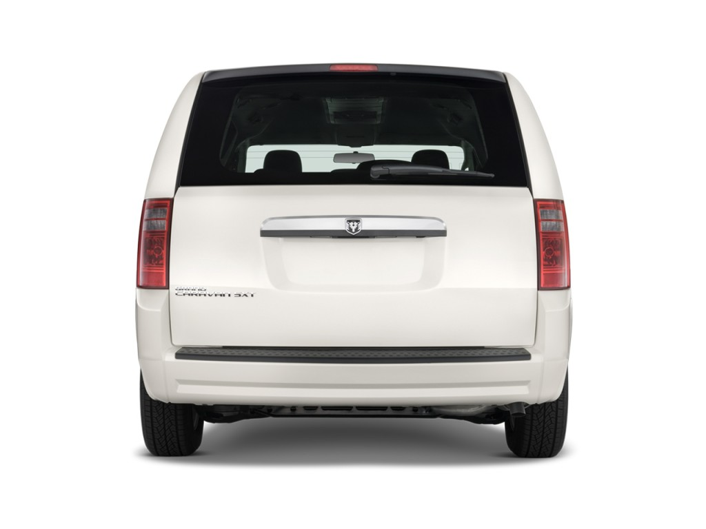 Image 2010 Dodge Grand Caravan 4 Door Wagon Sxt Rear
