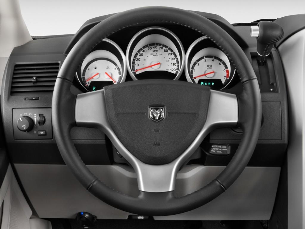 Mini Van Steering Wheel : Image dodge grand caravan door wagon sxt steering