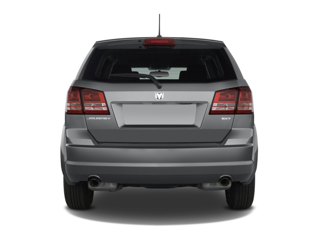 image 2010 dodge journey awd 4 door sxt rear exterior. Black Bedroom Furniture Sets. Home Design Ideas