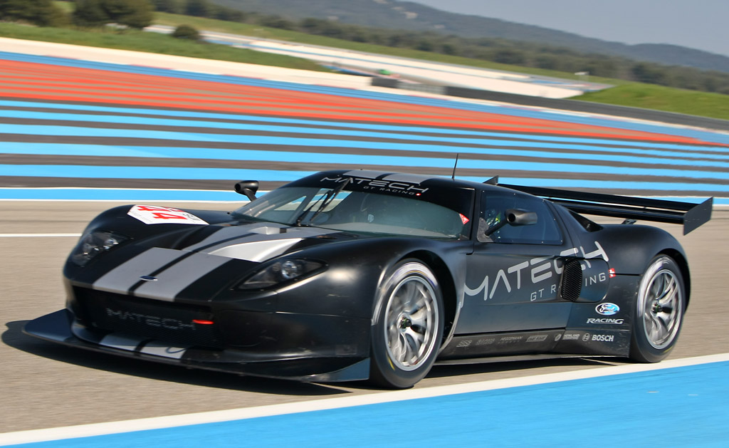 2010 FIA GT1 Matech Competition Ford GT