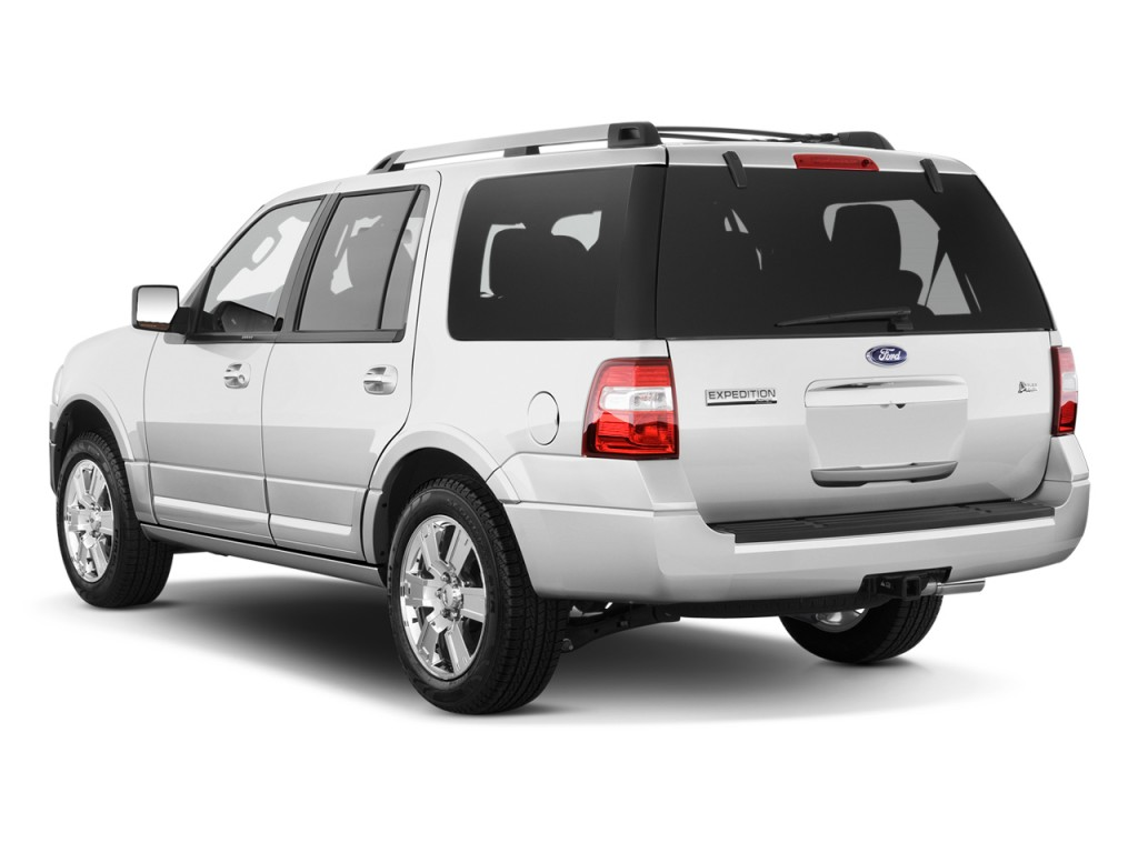 2010 Ford Expedition 2WD 4-door Limited Angular Rear Exterior View