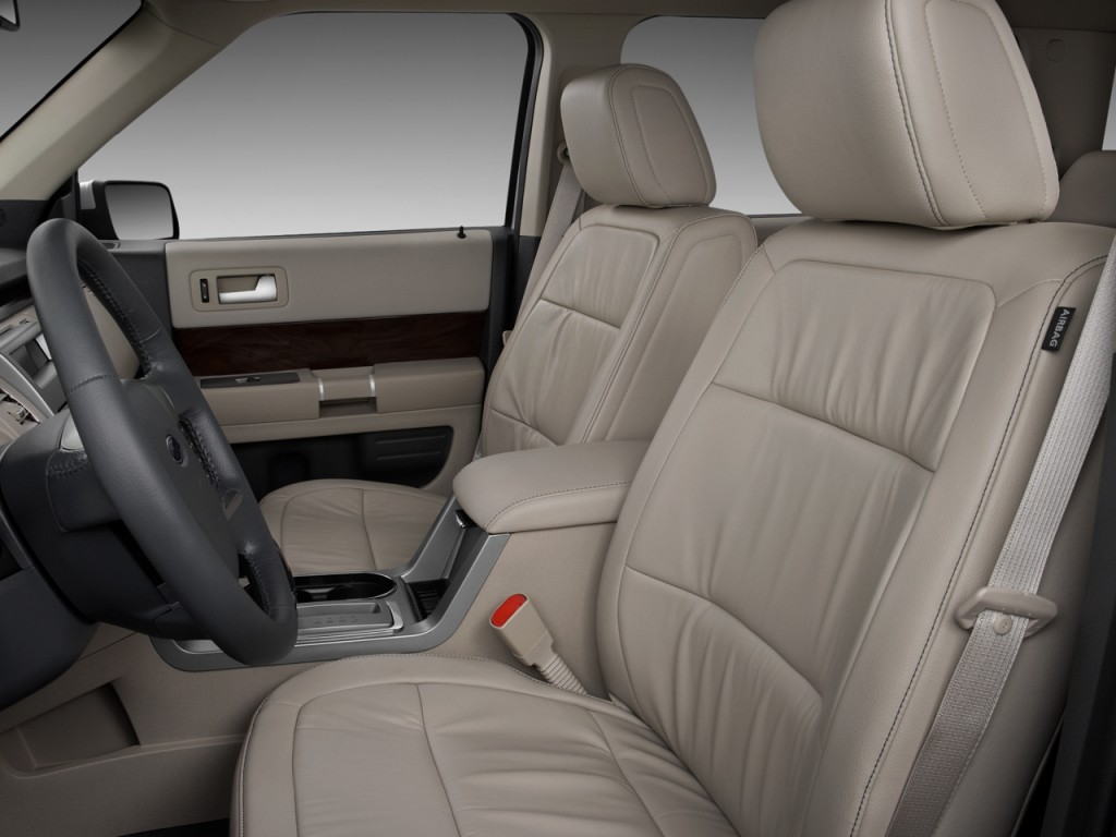 image 2010 ford flex 4 door sel fwd front seats size. Black Bedroom Furniture Sets. Home Design Ideas