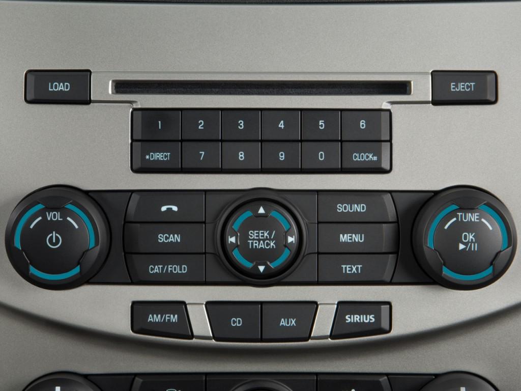 Image 2010 Ford Focus 4 Door Sedan Se Audio System Size