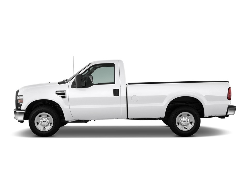 """Image: 2010 Ford Super Duty F-250 2WD Reg Cab 137"""" XL Side Exterior View, size: 1024 x 768, type ..."""