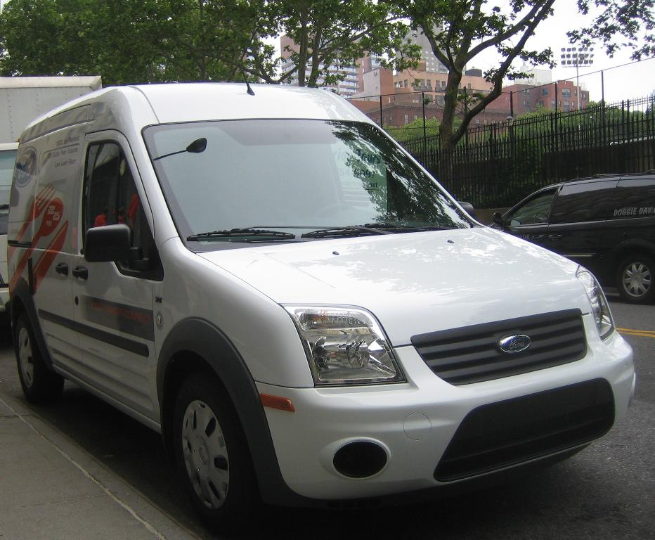 2010 Ford Transit Connect - media event in NYC, May 2009
