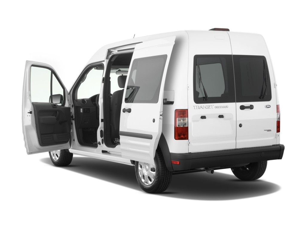 2010 Ford Transit Connect Wagon 4-door Wagon XL Open Doors