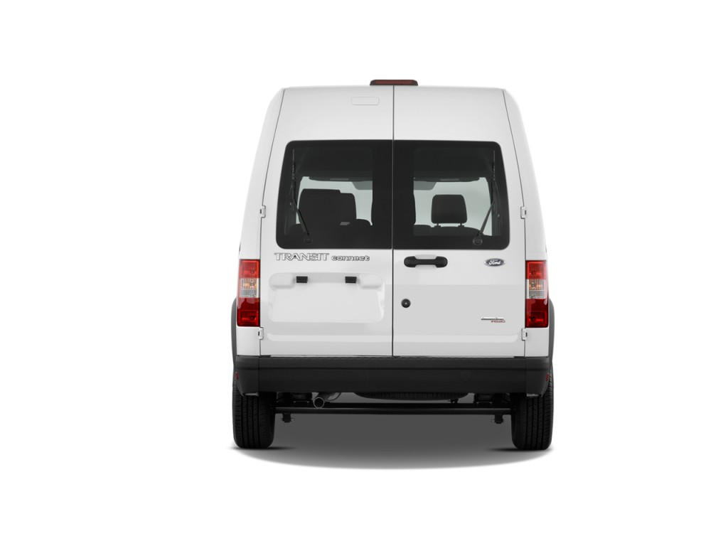 Image: 2010 Ford Transit Connect Wagon 4-door Wagon XL Rear Exterior View, size: 1024 x 768 ...