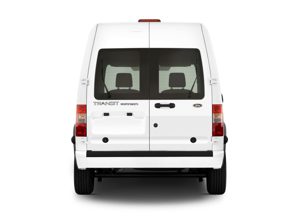 Ford Transit Cutaway >> Image: 2010 Ford Transit Connect XLT w/rear door privacy glass Rear Exterior View, size: 1024 x ...