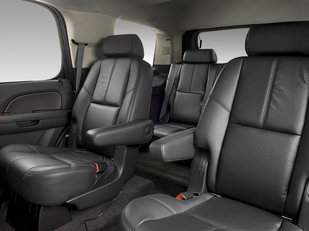 Image 2010 Gmc Yukon 2wd 4 Door 1500 Slt Rear Seats Size