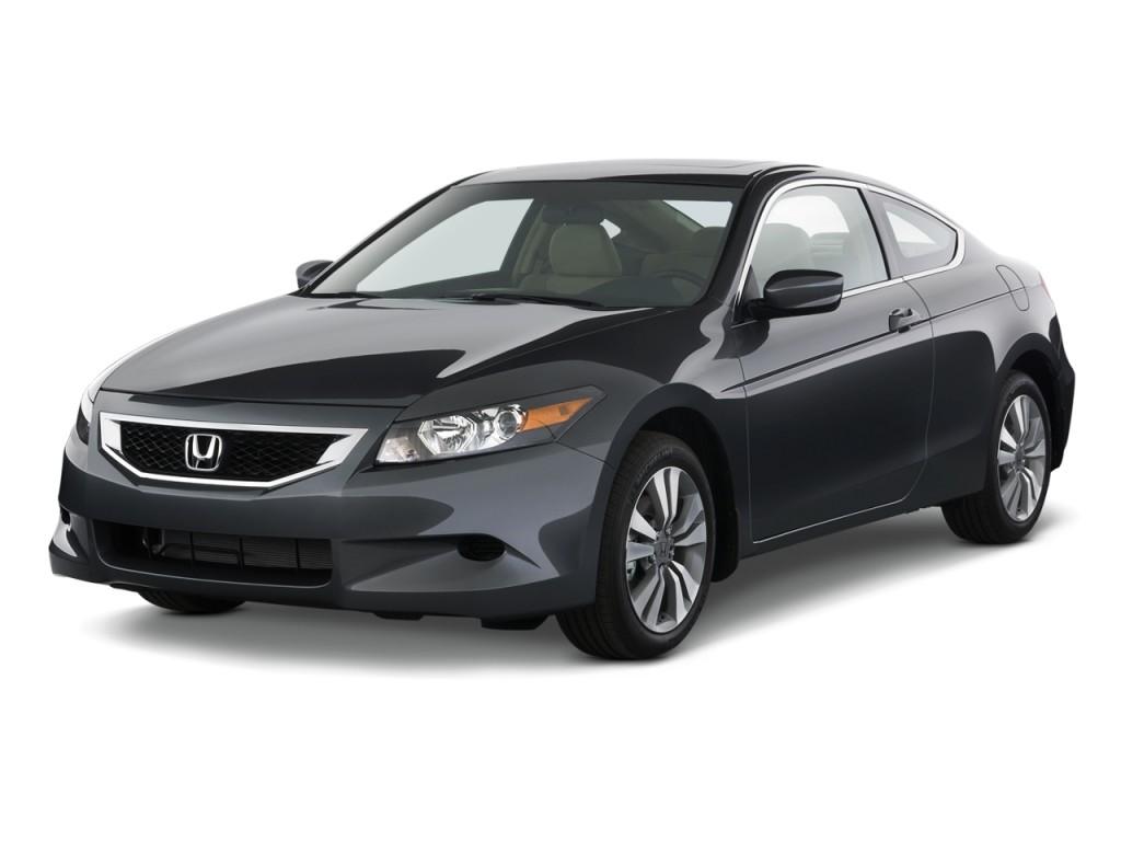 2010 Honda Accord Coupe 2-door I4 Auto EX-L Angular Front Exterior View