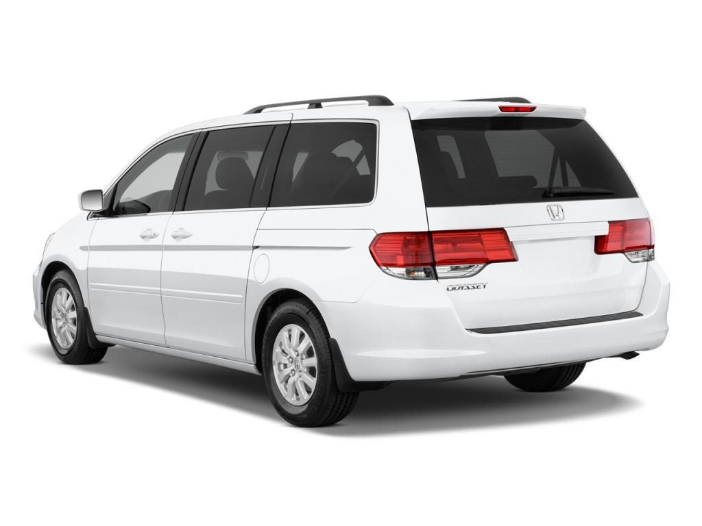 2010 Honda Odyssey 5dr EX Angular Rear Exterior View