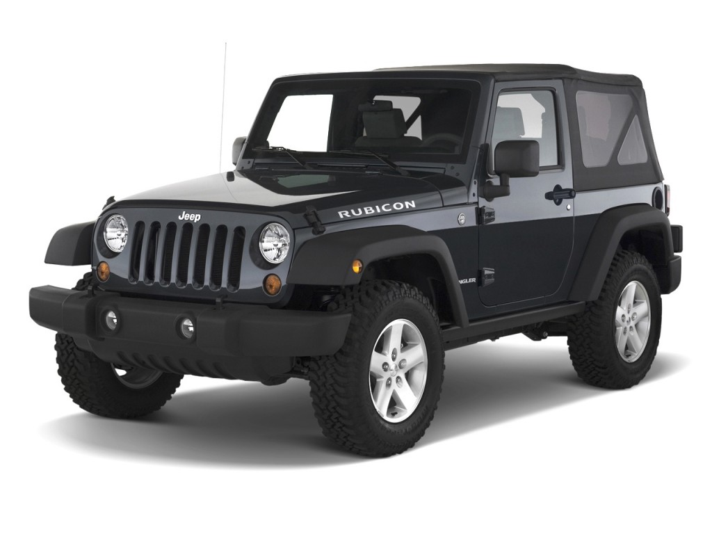2010 Jeep Wrangler 4WD 2-door Rubicon Angular Front Exterior View