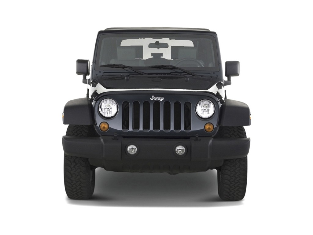2010 Jeep Wrangler 4WD 2-door Rubicon Front Exterior View