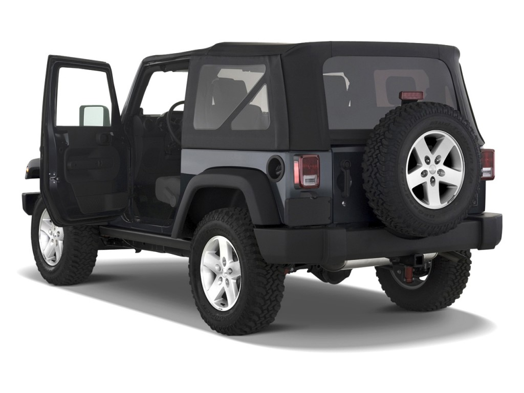 2010 Jeep Wrangler 4WD 2-door Rubicon Open Doors