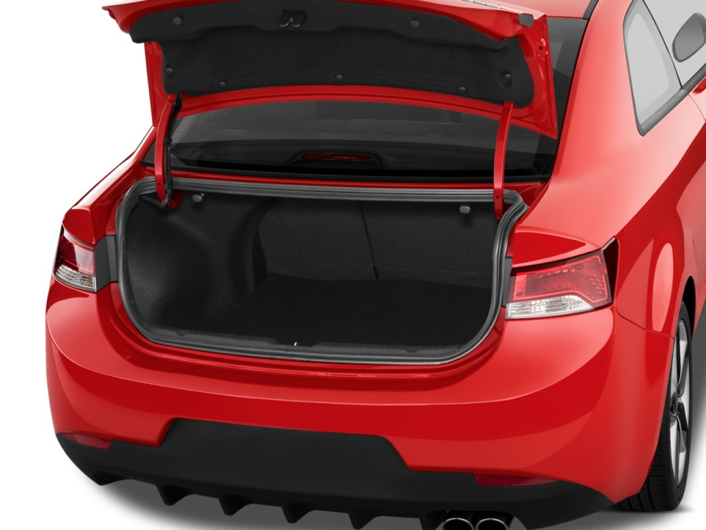 2010 kia forte koup 2 door coupe auto sx trunk